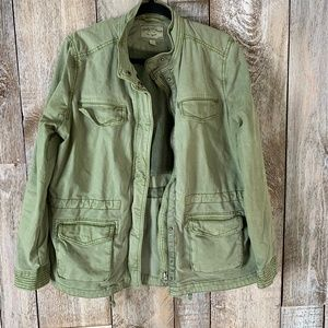 Lucky Brand Utility Military Cinched Syle Jacket
